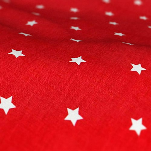 Roman Blinds Prestigious Textiles Twinkle Cardinal Colour Sample