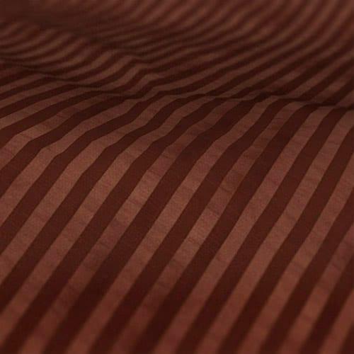 Fryetts mono stripe bronze Roman Blind Colour Sample