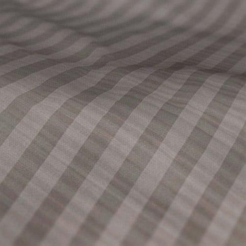 Fryetts mono stripe grey Roman blind colour sample