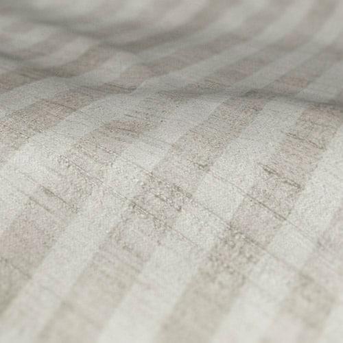 fryetts mono stripe ivory roman blind sample