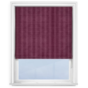 fryetts-mono-stripe-rasberry-roman-blind