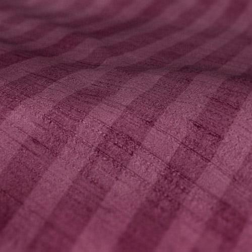 Fryetts mono stripe raspberry Roman Blinds Colour Sample