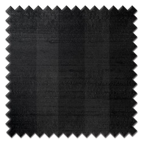 Fryetts mono stripe black Roman Blind