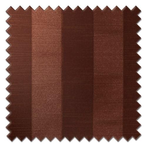 Fryetts mono stripe bronze Roman Blind