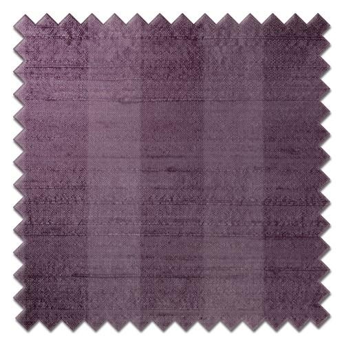 Fryetts mono stripe mauve Roman Blind