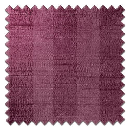 Fryetts mono stripe raspberry Roman Blinds