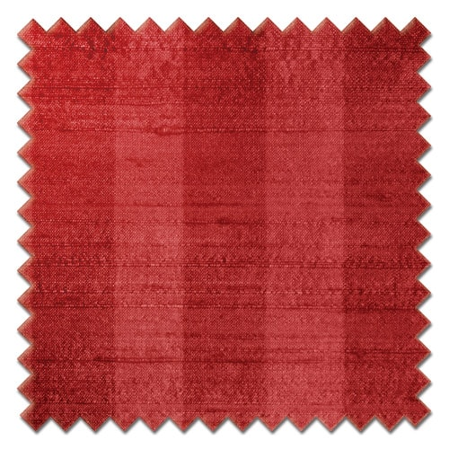Fryetts Mono Stripe Red Roman Blind Colour Sample