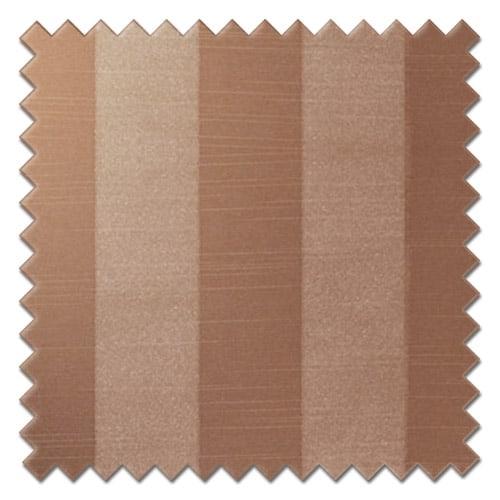 Fryetts mono stripe taupe Roman blinds