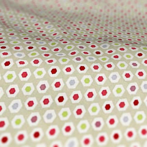 Roman Blind Prestigious Textiles Bahia Pomegranate Colour Sample