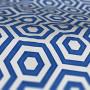 Roman Blind Prestigious Textiles Hex Cobalt Colour Sample