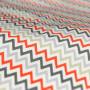 Roman Blind Prestigious Textiles Zag Zig Amber Colour Sample
