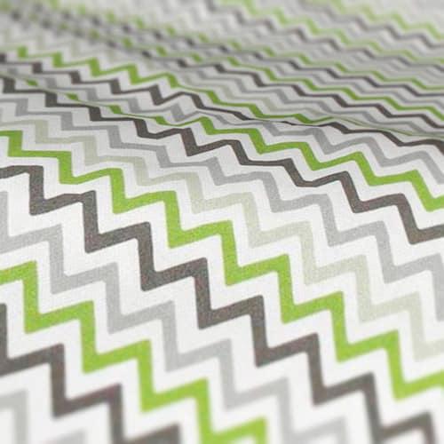 Roman Blind Prestigious Textiles Zag Zig Eucalyptus Colour Sample