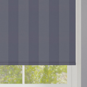 Blue Stripes Roller Blind