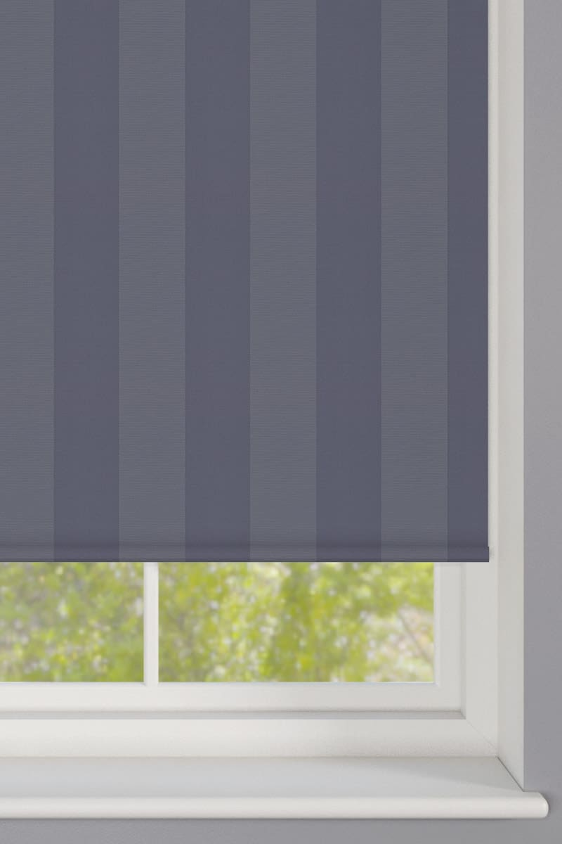 Blue Striped Roller Blind Cheapest Blinds Uk Ltd