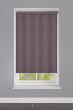 Purple Stripes Roller Blind