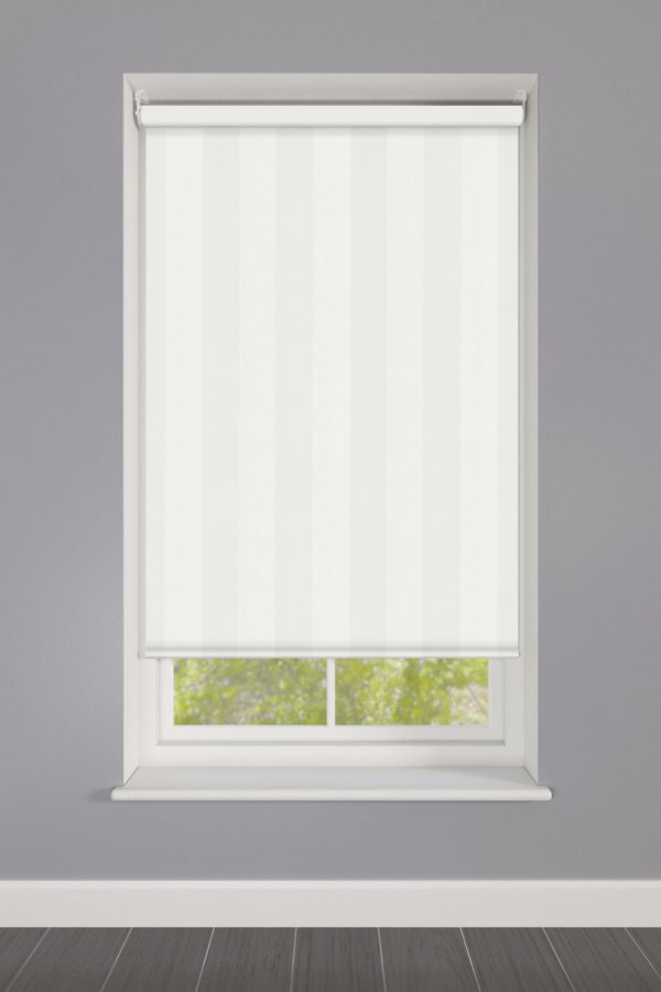 Cheap White Stripes Roller Blind