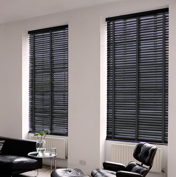 Cheapest Blinds Uk Ltd Dark Grey With Tapes