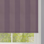 Purple Striped Roller Blind