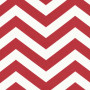 Red Zigzag Stripes Roller Blind Fabric Sample