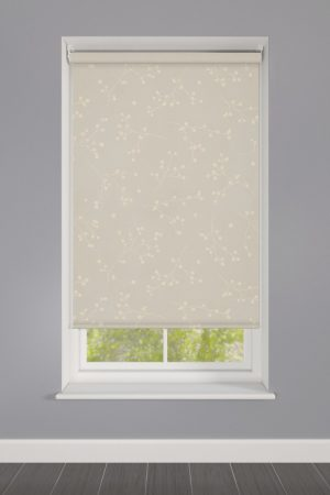 Reflection Antique Patterned Roller Blind