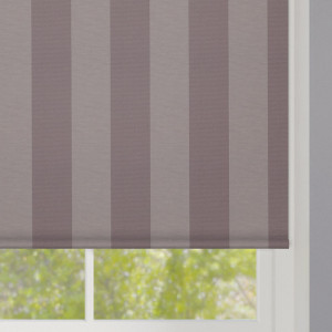 Taupe Striped Roller Blind