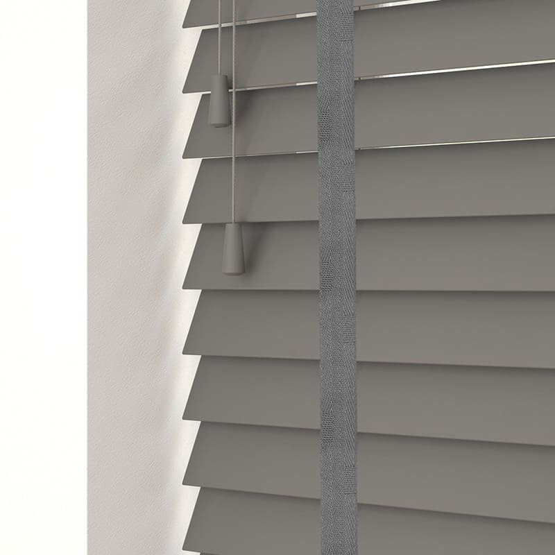Cheapest Blinds Uk Ltd Urban Grey Faux Wood With Tapes