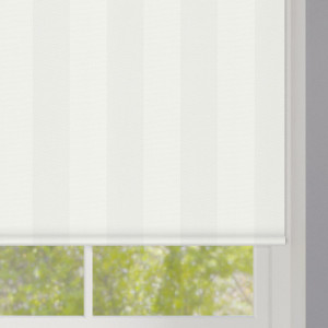 White Stripes Roller Blind
