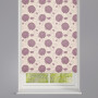 Bloom Mulberry Patterned Roller Blind