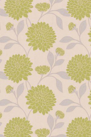 Bloom Pesto Roller Blind Fabric Sample
