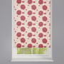 Bloom Rouge Patterned Roller Blind