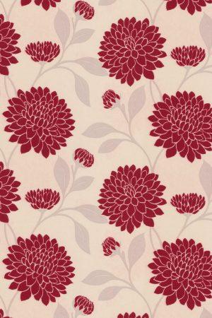 Bloom Rouge Roller Blind Fabric Sample