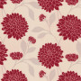 Bloom Rouge Roller Blind Fabric Sample