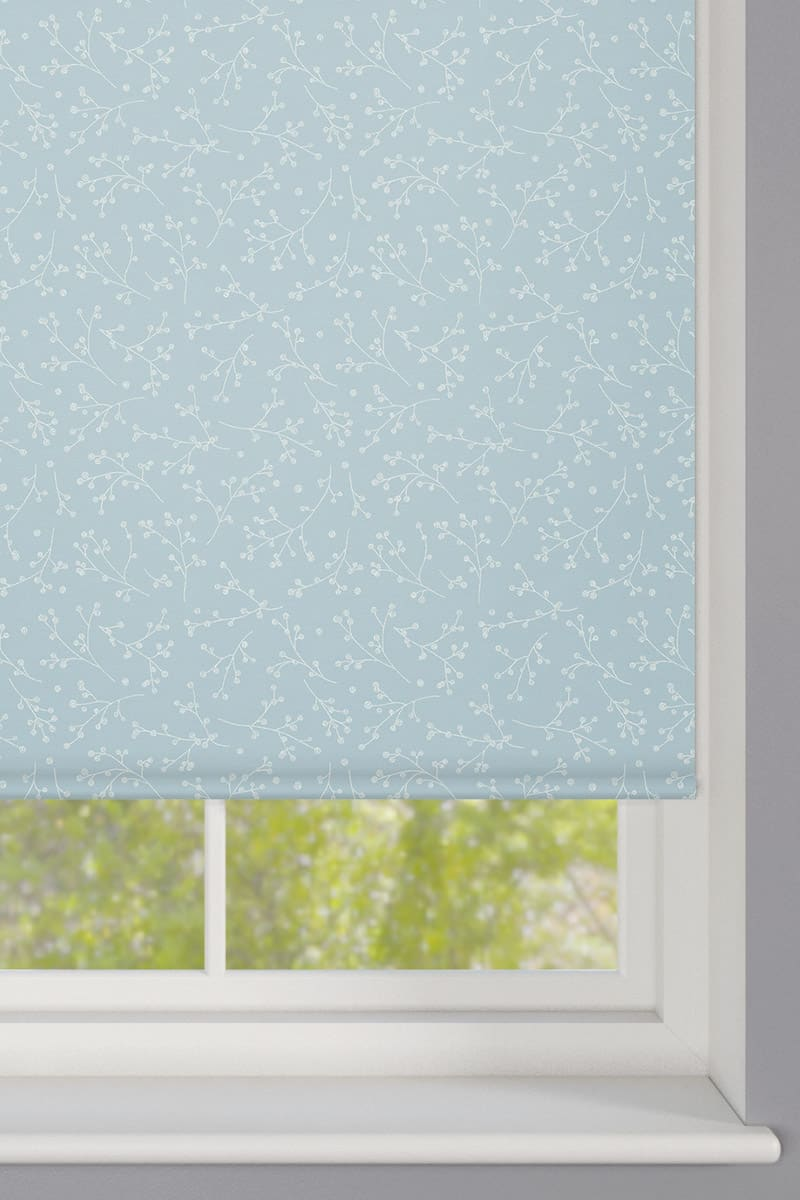Cheapest Blinds Uk Ltd Nina Duck Egg Roller Blind