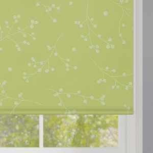 Reflection Olivine Roller Blind