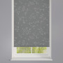 Reflection Silver Patterned Roller Blind
