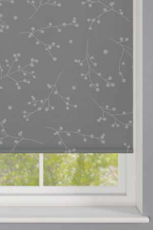Reflection Silver Roller Blind