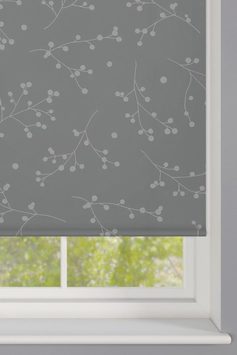 Cheapest Blinds Uk Ltd Reflection Silver Roller Blind