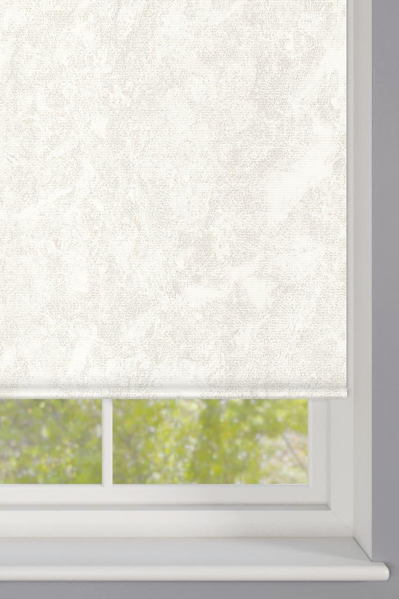 Cheapest Blinds Uk Ltd White Stone Roller Blind