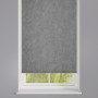 Torro Pewter Patterned Roller Blind