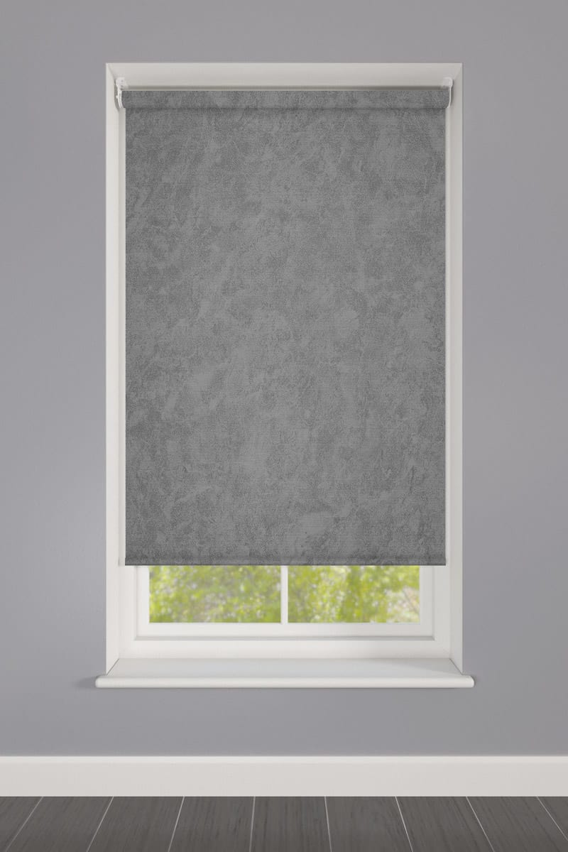 Cheapest Blinds Uk Ltd Pewter Stone Roller Blind