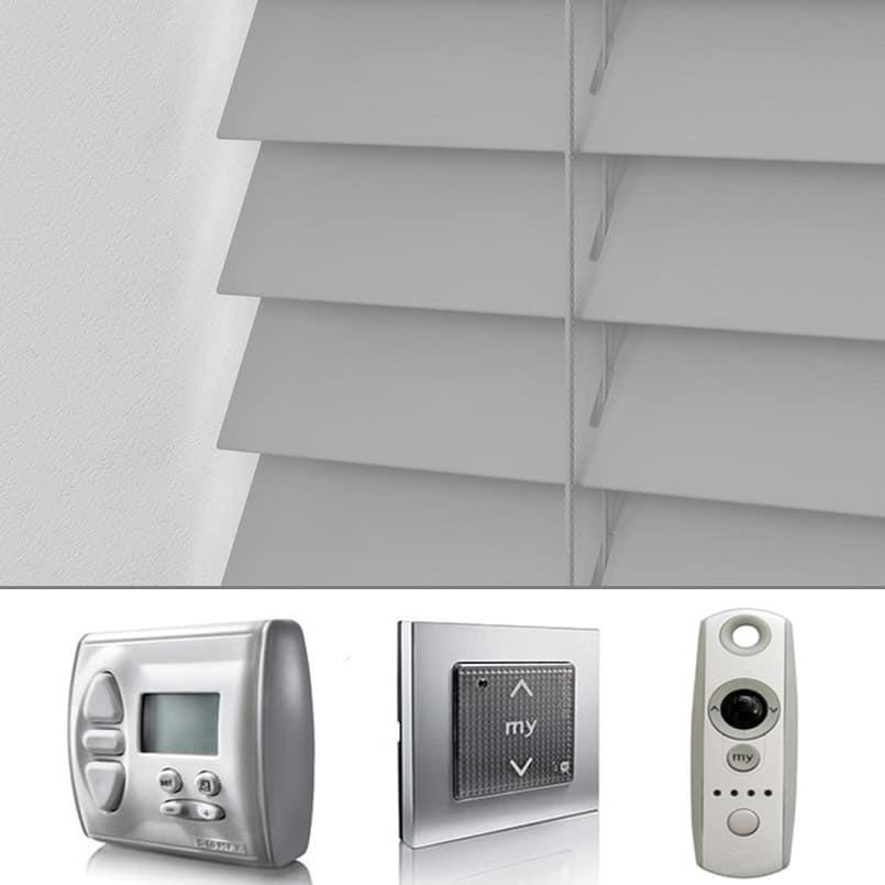 Cheapest Blinds Uk Ltd Motorised Remote Control Grey