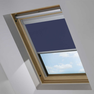 Navy Blue OKPOL Roof Skylight Blind