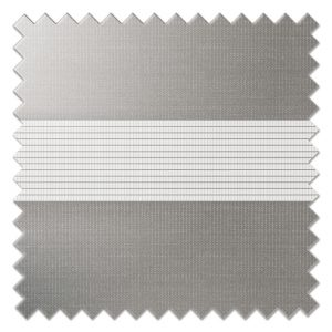 Dark Grey Day and Night Blinds Fabric Sample