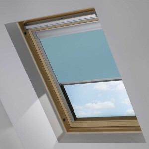 Sky Blue OKPOL Roof Skylight Blind
