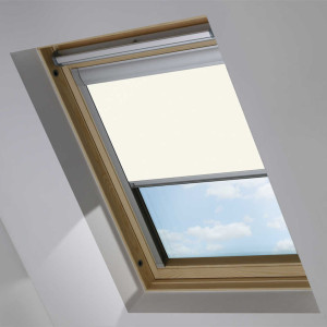 white OKPOL skylight blind