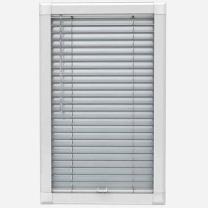 Silver UPVC Perfect Fit Blind