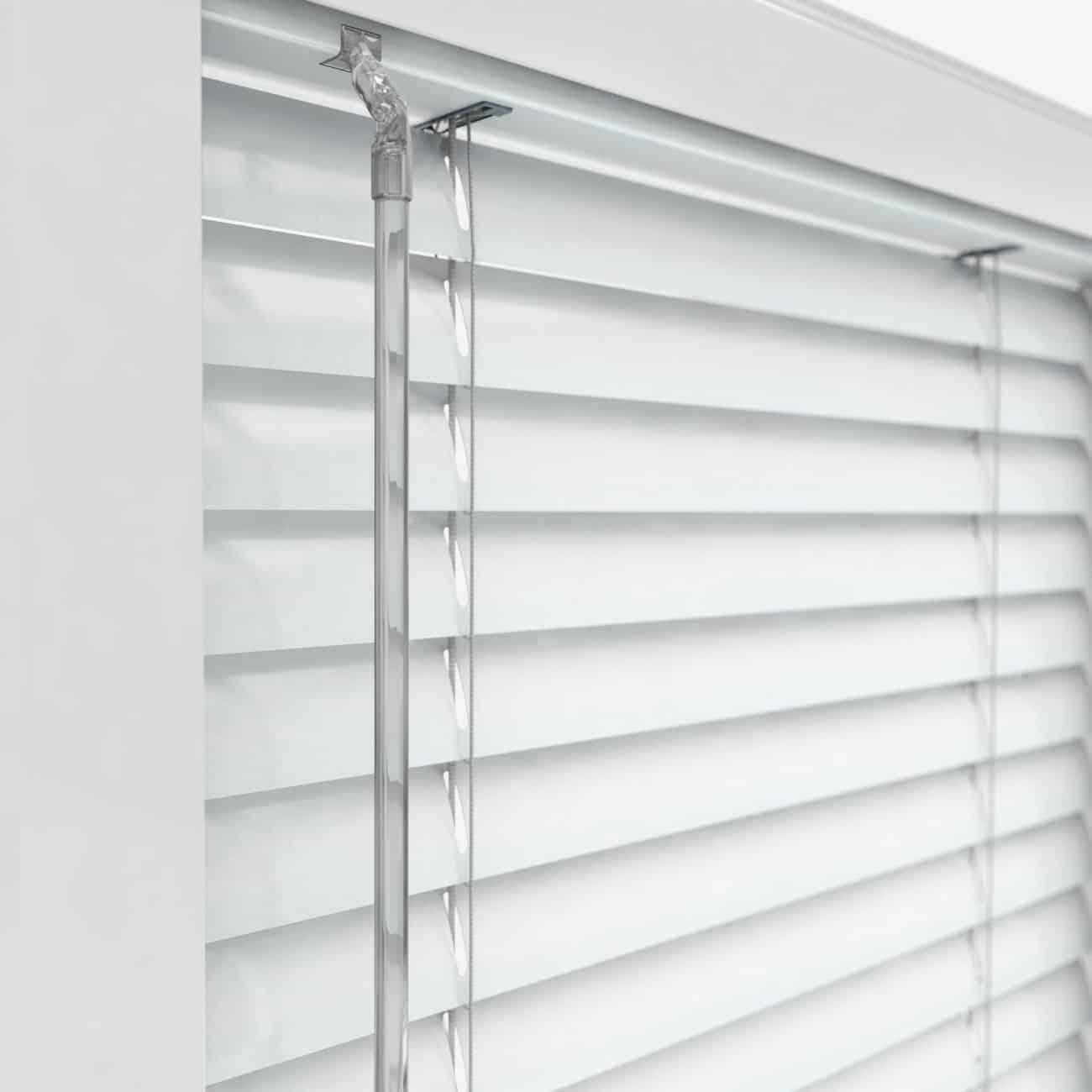 Cheapest Blinds Uk Ltd White Upvc Perfect Fit Venetian Blind
