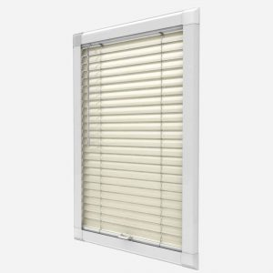Perfect Fit Conservatory UPVC Aluminium Venetian Blind Cream