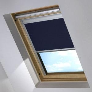 navy blue dakea skylight blind