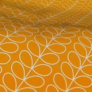 Orla Kiely Dandelion Linear Stem Roman Blind Fabric Sample